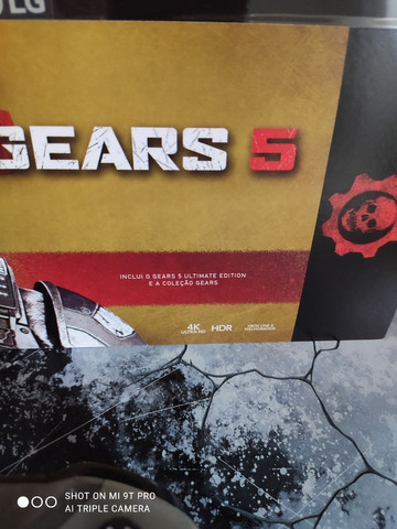 Xbox one X, edição limitada Gears 5 ZERADO!!! - Foto 3