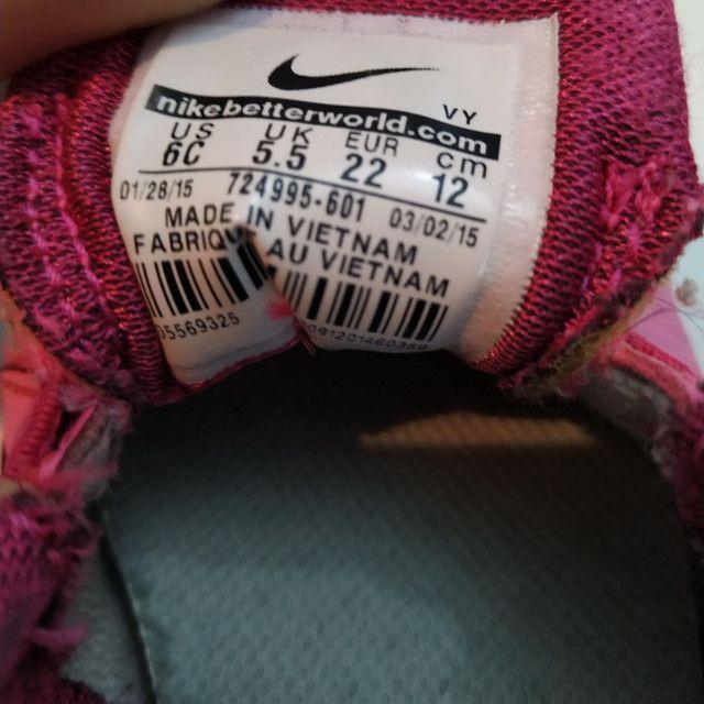 Nike infantil original tamanho 20 - Foto 5