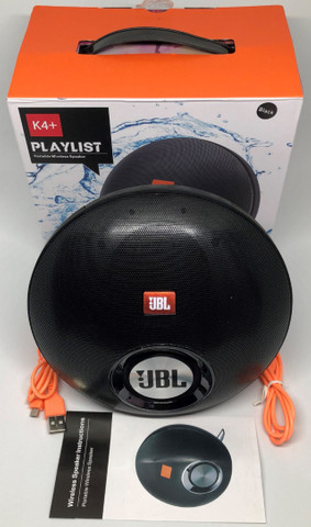 Caixa De Som Jbl K4+ Playlist 30w Bluetooth Entradas Usb Sd e Auxiliar Nova na Caixa. - Foto 2
