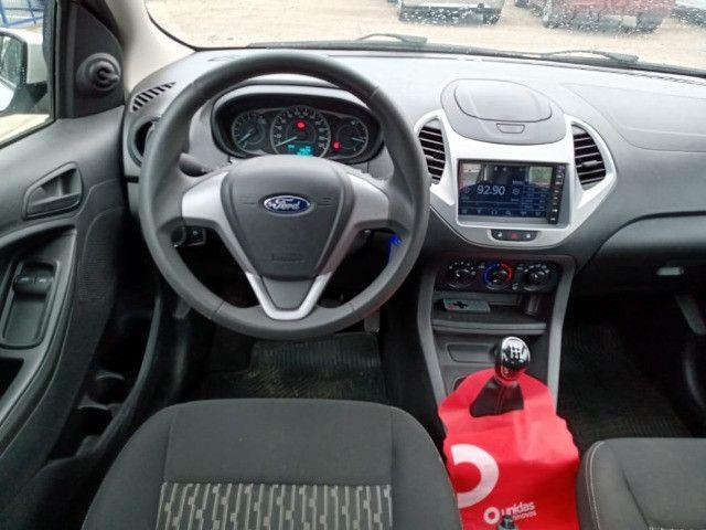 Ford ka + 1.0 2019 baixo km e com multimidea doc+transferencia gratis - Foto 3