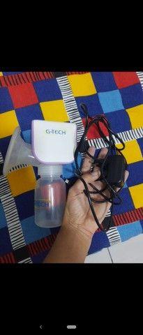 Bomba extratora de leite materno GTech - Foto 4