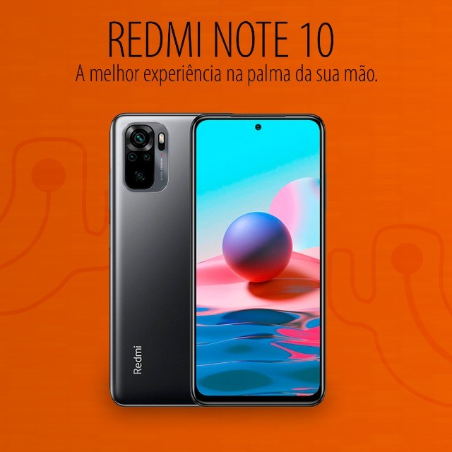 Xiaomi Redmi Note 10 6/128 GB   Pronta Entrega - Lacrado e com garantia