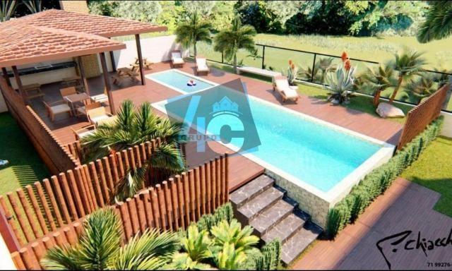 Apartamento com 3 dormitórios à venda, 89 m² por R$ 370.000 - Taperapuã - Porto Seguro/BA - Foto 11