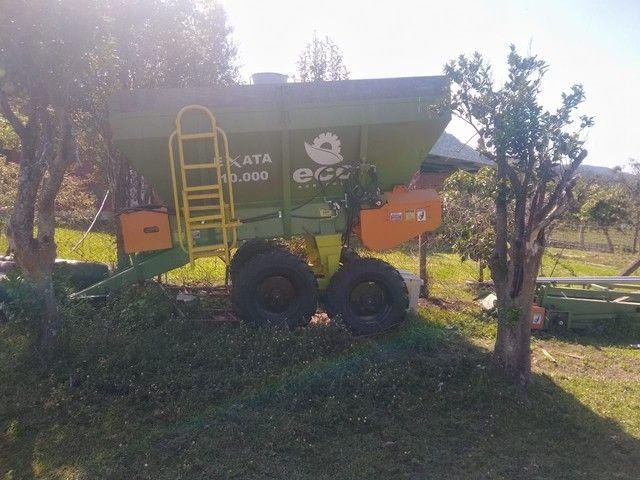 0 KM - Vendo Carreta Distribuidora de Fertilizantes - Oportunidade Única  - Foto 4