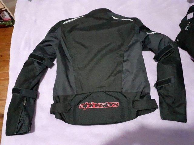 Jaqueta e calça Alpinestar feminino. Tamanho P.  - Foto 2