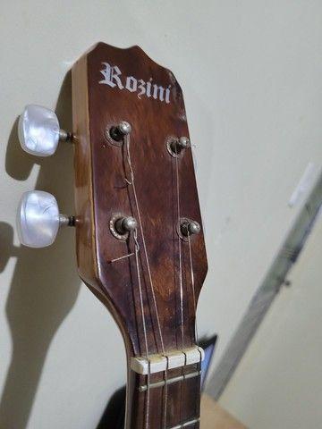 Banjo Rossine, em perfeito estado aceito troca - Foto 2