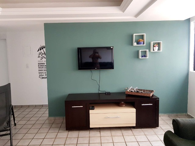 Ponta de Campina  - Vendo apartamento mobiliado! 200 metros do mar!  - Foto 2