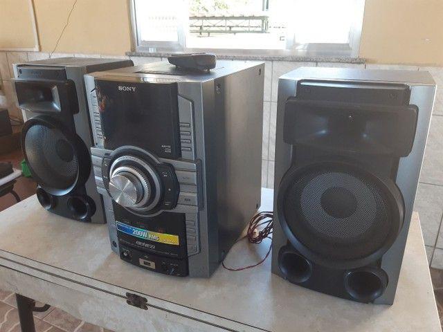 Mini System Sony GENEZI MHC-GT111 200W RMS - Foto 3