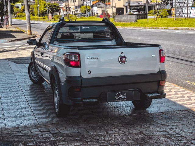 Fiat Strada Working CS 1.4 Flex 2015 IPVA 2021 PAGO!!! - Foto 7