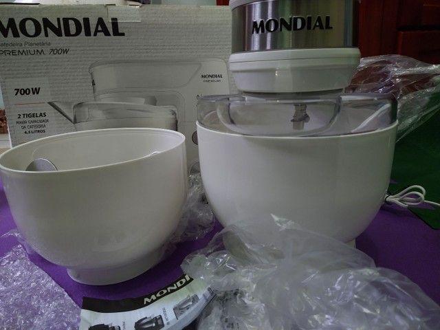 Batedeira Planetária Mondial Premium. Marca lider em Planetária. Ela esta na caixa lacrada - Foto 2