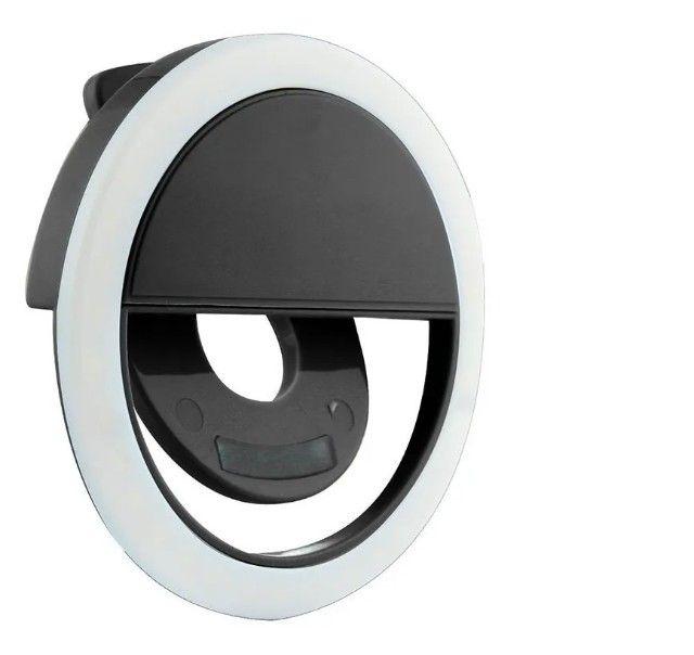 Ring Light Flash Led Luz Para Selfie Celular Universal Maquiagem - Foto 5