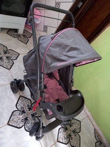 Carrinho de bebê feminino - Foto 2
