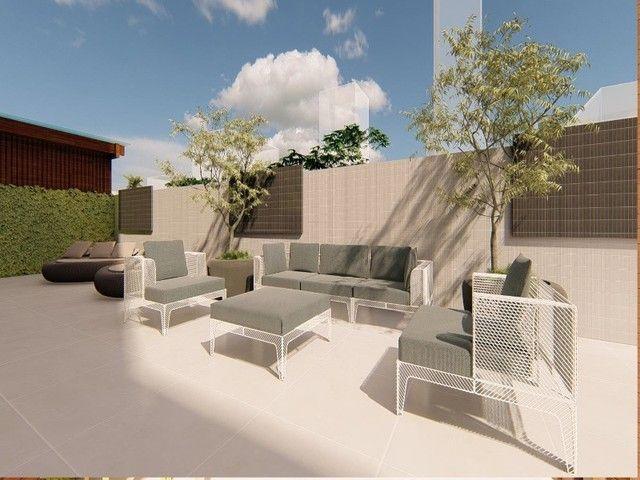 Apartamento em construção, 03 suítes, piscina, varanda, 03 vagas de garagem privativas, Ba - Foto 9