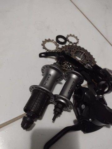 Peças de Bicicleta Semi novas - Foto 2