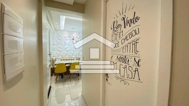 AB275 - Apartamento com 02 quartos/piso porcelanato/ projetados - Foto 7