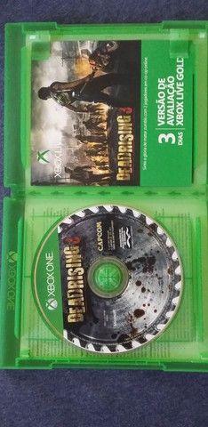 2 jogos de Xbox one usado e mais um filme  - Foto 4