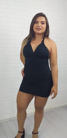 Vestido gringa malha canelada  - Foto 5