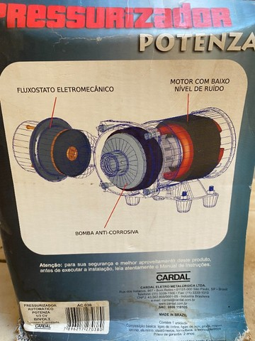 Pressurizador Potenza Cardal - Foto 5