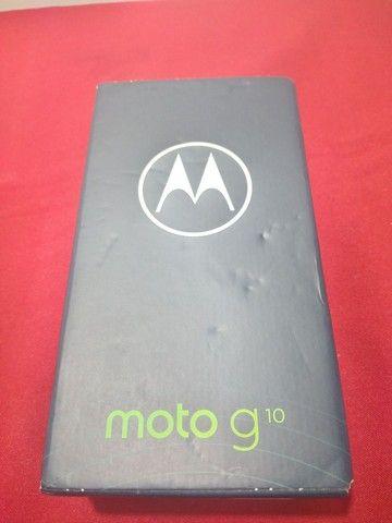Celular Motorola moto g10 64 GB novo lacrado+nota fiscal  - Foto 3