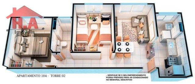 Apartamento à venda, 60 m² por R$ 189.690,00 - Passaré - Fortaleza/CE - Foto 12