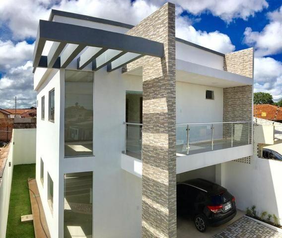 Casa moderna alto padrão, 3 suítes - Pronta pra Financiar