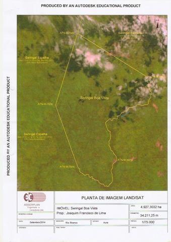gleba de terras em xapuri acre
