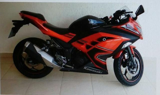 Kawasaki Ninja 300 Laranja 2014 Motos Nova Friburgo Rio De