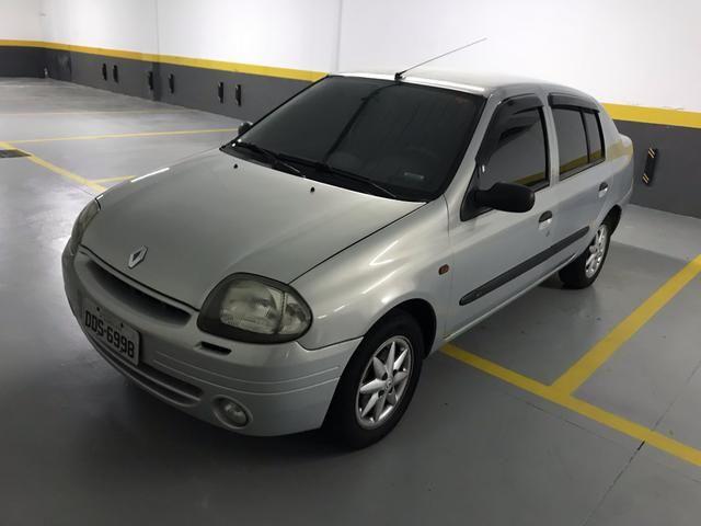 Clio Sedan 1.0 RT 2001 completo - Foto 2