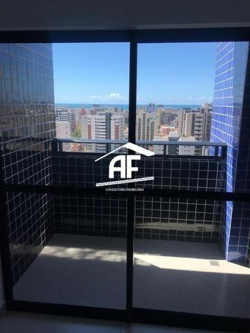 Apartamento na Jatiúca 62m² 2 quartos e 1 suíte - Excelente Localização