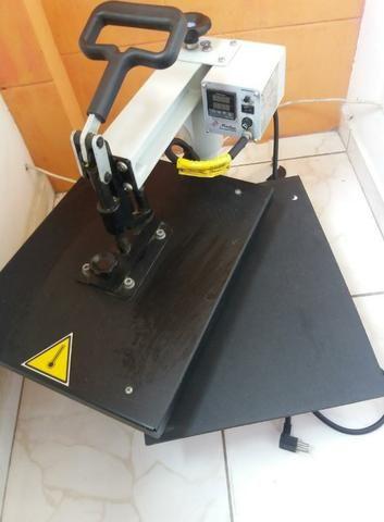 Prensa Térmica Metalnox (A3 35x45cm) pouco tempo de uso