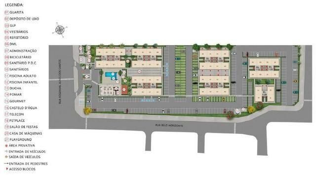 Apartamento 2Q Parque Macambira 100% financiado entrada facilitada - Foto 3