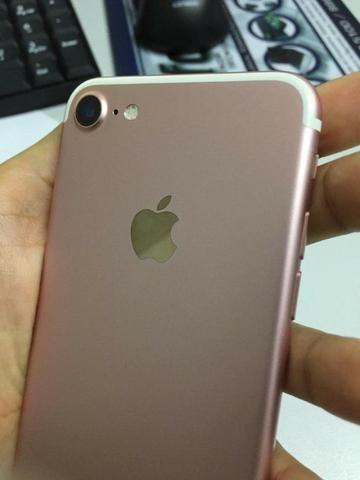Celular Iphone 7 rose 32gb seminovo - Foto 6