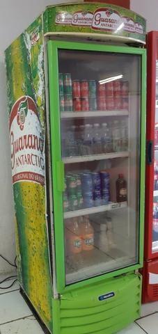 Refrigerador com porta de Vidro