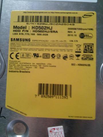 HD Samsung 500GB Não funciona - Foto 2