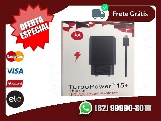 Entrega-gratis-Bom-Motorola Carregador Turbo
