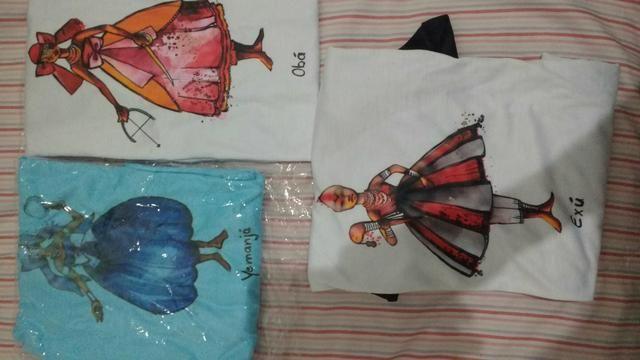 Camisetas orixás da umbanda sagrada - Foto 2