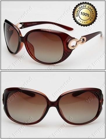 5dc34a117b021 Óculos de Sol Feminino Lentes Polarizadas - Proteção UV 400 ...