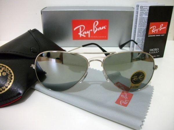 b4b64abcfa605 Óculos Rayban espelhado aviador novo original comprado Goldfinger ...