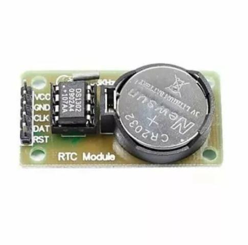 Módulo Rtc Arduino Ds1302 Relógio Real Time Clock + Bateria - Foto 2