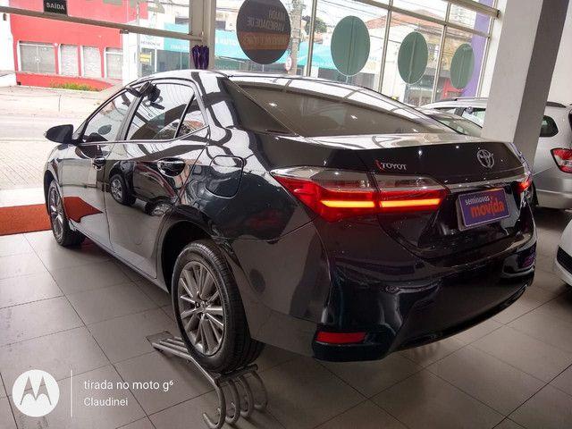 Toyota Corolla GLi Upper 1.8 flex AUT R$ 81.500,00 2019/2019 - Foto 5