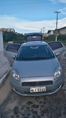 Fiat Punto ELX 1.4 2009/2010 Flex 8V, 5 portas, Cor prata - Foto 10