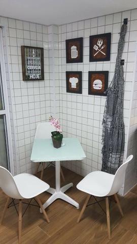 (Thamir) Apartamento 2 dormitórios 150 metros da praia, no bairro da Guilhermina - Foto 7