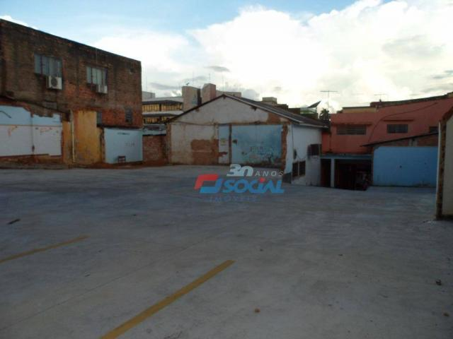 Terreno comercial para locação, Estacionamento, Rua Barão do Rio Branco - Caiari, Porto Ve - Foto 5