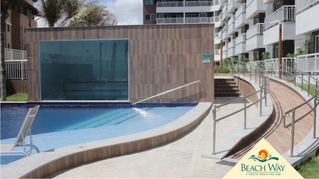 Apartamento à venda com 2 dormitórios em Porto das dunas, Aquiraz cod:DMV111 - Foto 3
