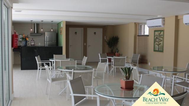 Apartamento à venda com 2 dormitórios em Porto das dunas, Aquiraz cod:DMV111 - Foto 5
