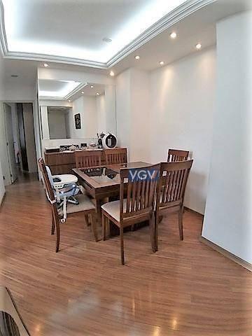 Apartamento com 2 dormitórios à venda, 54 m² por R$ 389.000,00 - Vila das Mercês - São Pau - Foto 4