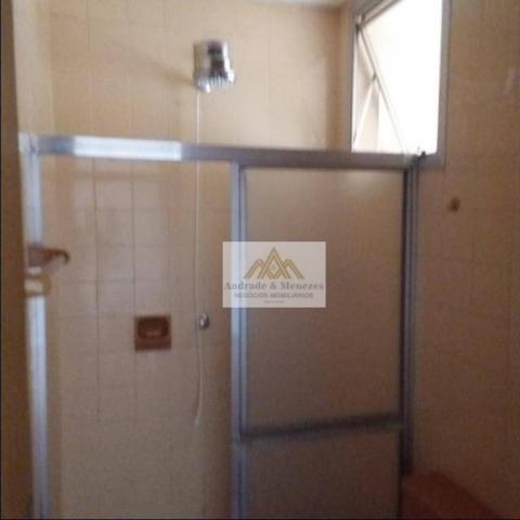 Apartamento com 1 dormitório para alugar, 69 m² por R$ 750,00/mês - Centro - Ribeirão Pret - Foto 18