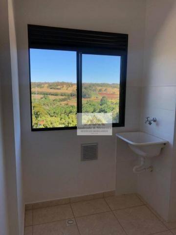 Apartamento com 2 dormitórios para alugar, 42 m² por R$ 700,00/mês - Bonfim Paulista - Rib - Foto 12