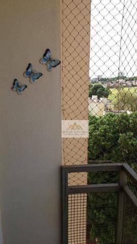 Apartamento com 2 dormitórios para alugar, 82 m² por R$ 900/mês - Iguatemi - Ribeirão Pret - Foto 4
