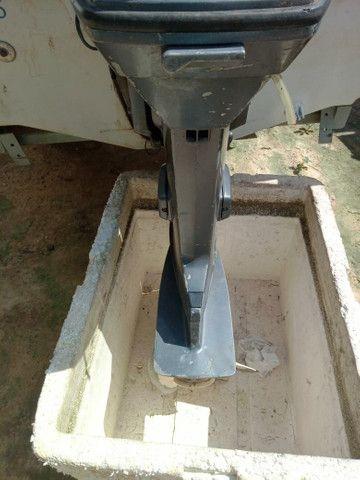 Barco com motor 60 - Foto 5